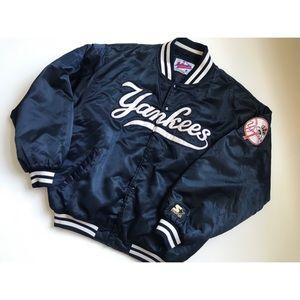 Vintage 80s Starter Yankees Bomber Jacket